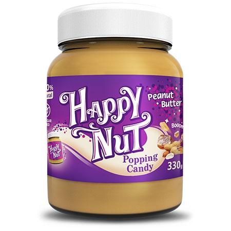 Happy Nut Popping Candy