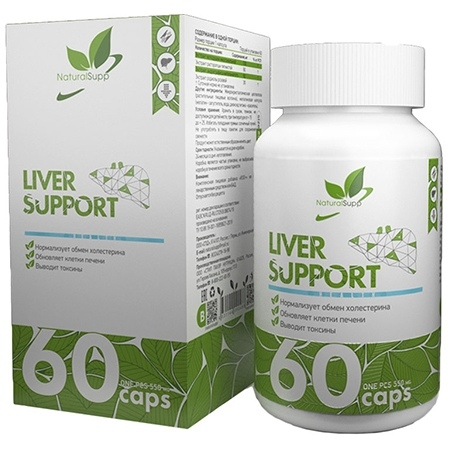 NaturalSupp Liver Support 60 капсул
