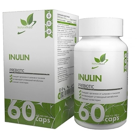 NaturalSupp Inulin 60 капсул