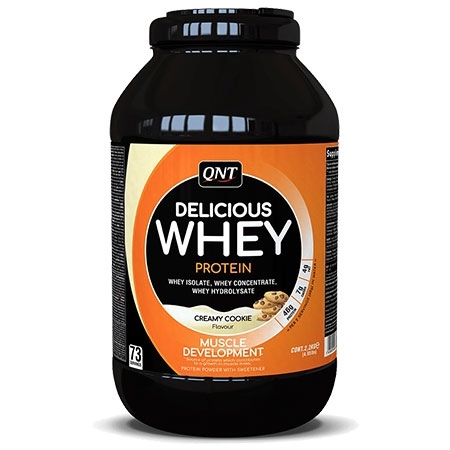 QNT Delicious Whey 2.2кг