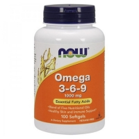 NOW Omega 3-6-9 100 капсул