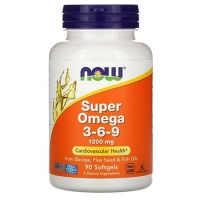 NOW Super Omega 369 90 капсул