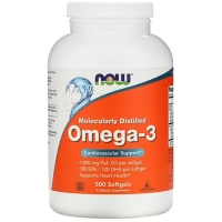 NOW Omega 3 500 капсул